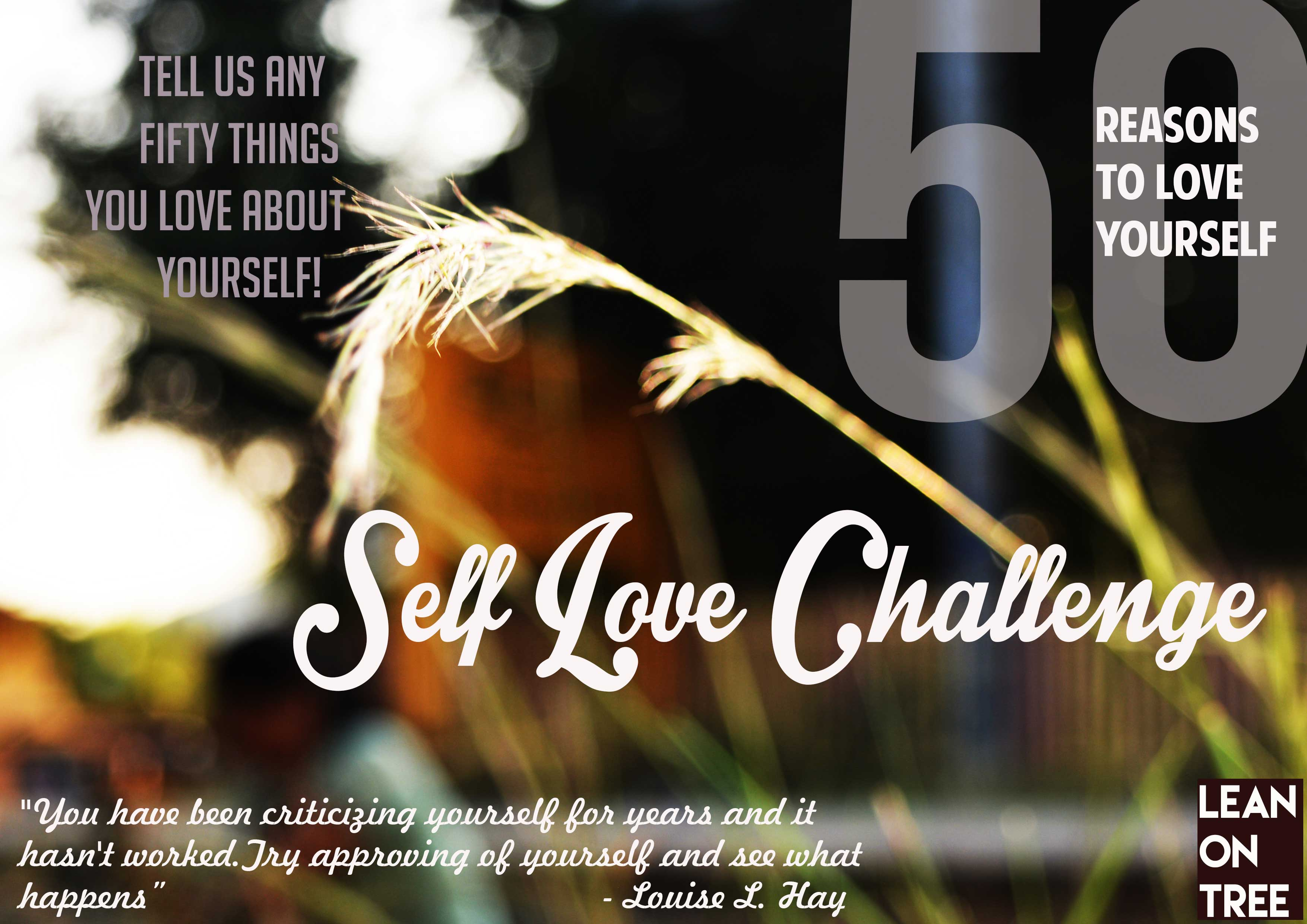 Self-Love Contest Poster